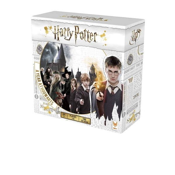 Harry Potter A Year At Hogwarts Board Game