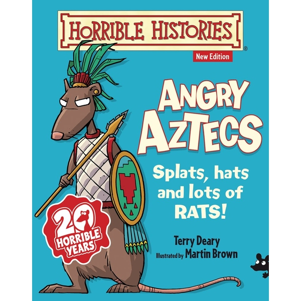 Angry Aztecs (Horrible Histories) Paperback