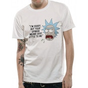 Rick And Morty - Opinion Men's XX-Large T-shirt - White