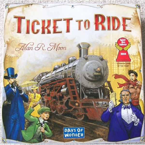 Ticket to Ride Board Game - Image 2
