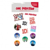 One Direction 1D Shimmer Sticker Pack 50 Pack CDU