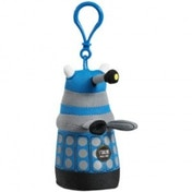 Doctor Who Blue Talking Dalek Plush Key Chain