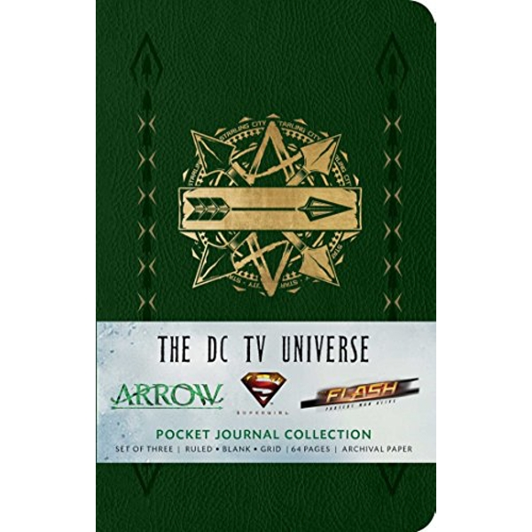 The DC TV Universe Pocket Journal Collection Notebook / blank book 2017