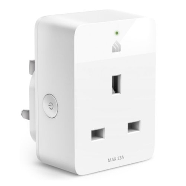 TP-LINK (KP105) Kasa Smart Wi-Fi Plug Slim, Remote Access, Schedule & Timer, Grouping, Voice Control