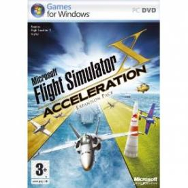 Microsoft Flight Simulator X 2007 Acceleration Expansion Game PC