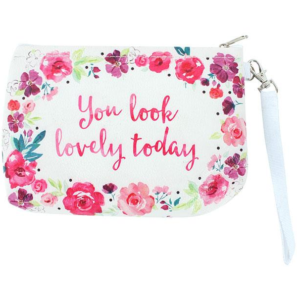 Floral Fusion Lovely Pouch Bag