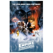 Star Wars The Empire Strikes Back - One Sheet Maxi Poster