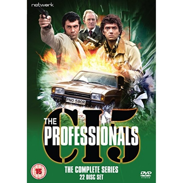The Professionals:The Complete Series DVD