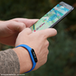 GO-TCHA Wristband Straps for Pokemon Go (Wristband Only) Blue  - Image 2