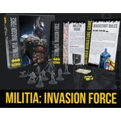 Batman Miniature Board Game Militia: Invasion Force Bat-Box