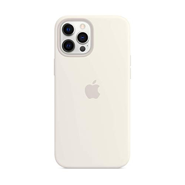 Apple Silicone Case with MagSafe (for iPhone 12 Pro Max) - White