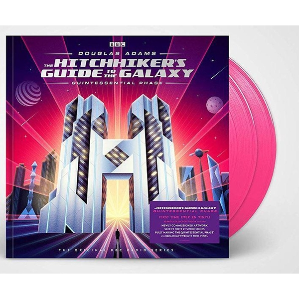 Douglas Adams - The Hitchhiker's Guide To The Galaxy Quintessential Phase Pink Vinyl