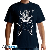 Dragon Ball - Dbz/Vegeta Men's X-Large T-Shirt - Navy