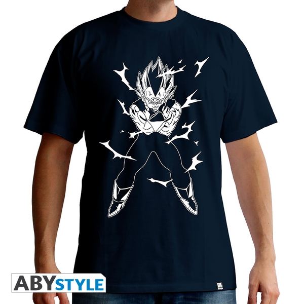Dragon Ball - Dbz/Vegeta Men's X-Large T-Shirt - Navy - Image 1