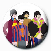 The Beatles - Submarine Band Badge