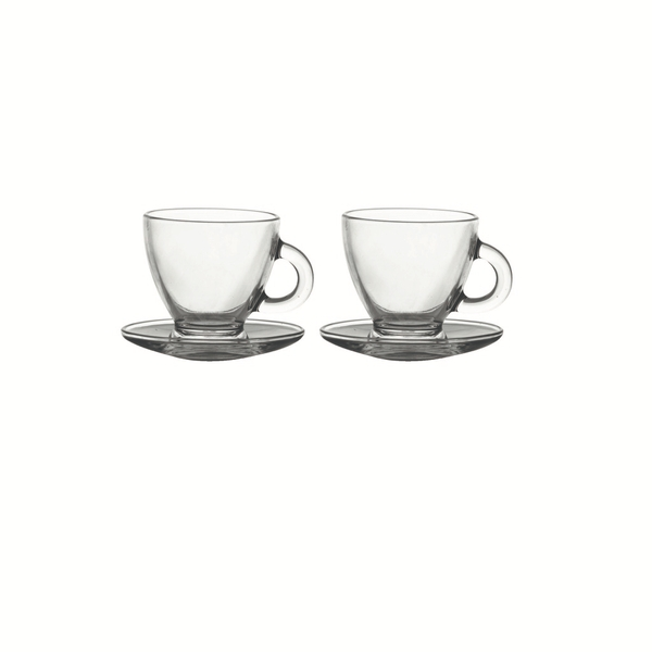 Rayware Entertain Cappuccino Cup & Saucer Set of 2