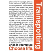 Trainspotting Quotes 1 Maxi Poster