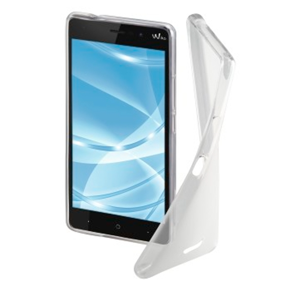 """Hama """"Crystal"""" Cover for Wiko Lenny 4 Plus, transparent"""
