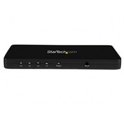 StarTech 4K HDMI 2-Port Video Splitter 1x2 HDMI Splitter with Solid Aluminum Housing 4K 30Hz
