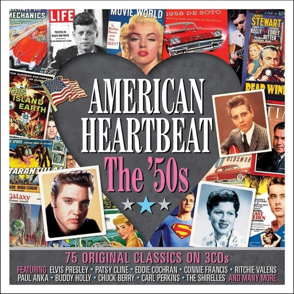 Various Artists - American Heartbeat: The '50s CD