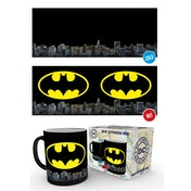DC Comics Batman Logo Heat Change Mug