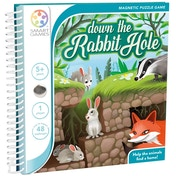 Down the Rabbit Hole Smart Games Puzzle Game Book
