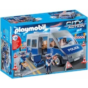 Playmobil City Action Policemen with Van - Flashing Lights and Sound