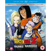 Dragon Ball Z - The TV Specials Double Feature: The History of Trunks/Bardock the Father of Goku DVD/Blu-ray Combo