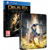 Deus Ex Mankind Divided Day One Edition Steelbook PS4 Game
