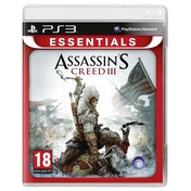Assassin's Creed III 3 (Essentials) PS3 Game