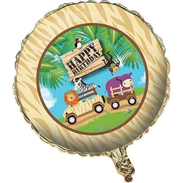 Safari Adventure Metallic Balloon