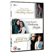 TV Adaptations Triple - Wuthering Heights/Far From The Madding Crowd/Tess Of The D'Urbervilles DVD