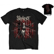 Slipknot The Gray Chapter Star Mens Blk T Shirt: Medium