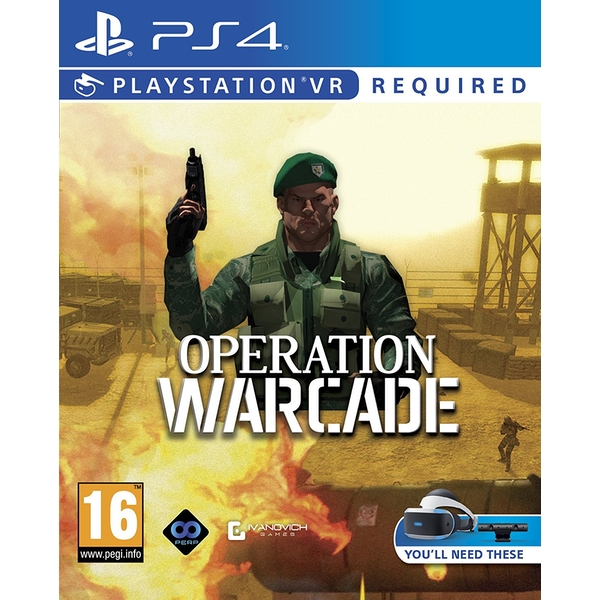 Operation Warcade PS4 Game (PSVR Required) - Image 1
