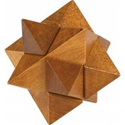 Chunky Wooden Star Puzzle
