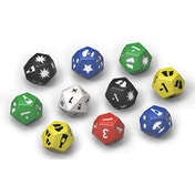 Fallout Wasteland Warfare Survivors Dice Set Board Game