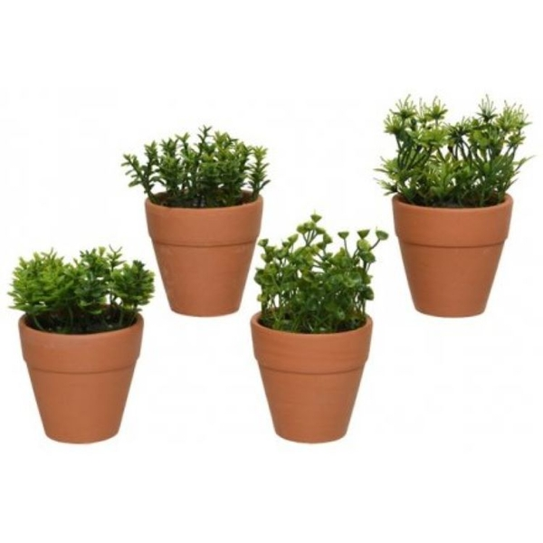 Artificial Potted Plant  (1 Random Supplied)