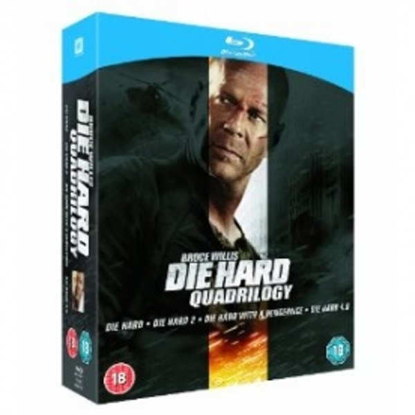 Die Hard Quadrilogy Blu-Ray