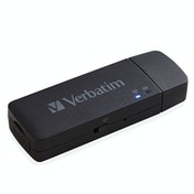 Verbatim MediaShare Mini card reader Black USB 2.0/Wi-Fi
