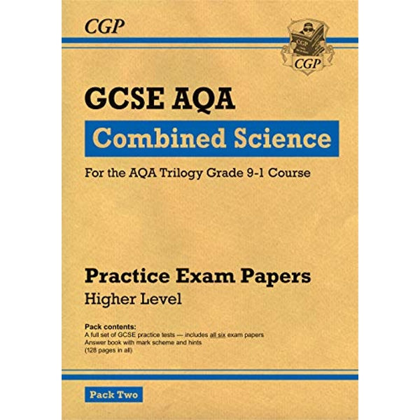New Grade 9-1 GCSE Combined Science AQA Practice Papers: Higher Pack 2 by CGP Books (Paperback, 2017)