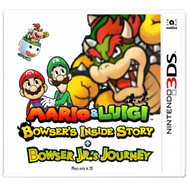 Mario & Luigi Bowser's Inside Story + Bowser Jr.'s Journey 3DS Game