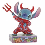 Ex-Display Devilish Delight (Stitch) Disney Traditions Figurine Used - Like New