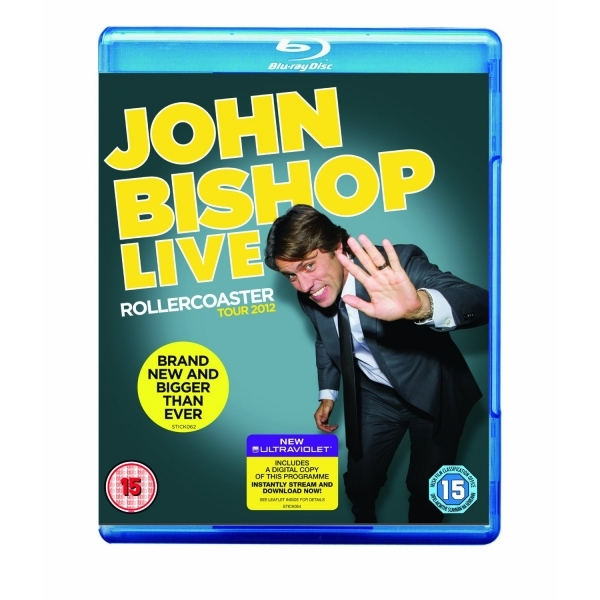 John Bishop Live The Rollercoaster Tour Blu-ray