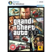 Ex-Display Grand Theft Auto IV 4 GTA Game PC Used - Like New