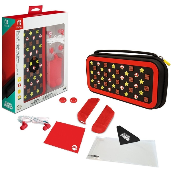 PDP Mario Icon Edition Starter Kit for Nintendo Switch