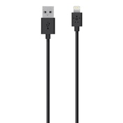 Belkin 1.2m Mixit Charge and Sync Cable for Apple Lightning Black