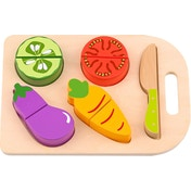 Wooden Play Cutting Vegetables (6 Piece)