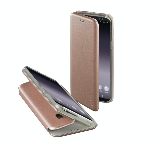 """Hama """"Curve"""" Booklet for Samsung Galaxy S9, rose gold"""