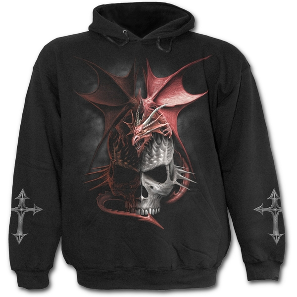 Serpent Infection Men's Large Hoodie - Black