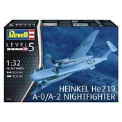 Heinkel He219 A-0/A-2 Nightfighter 1:32 Revell Model Kit